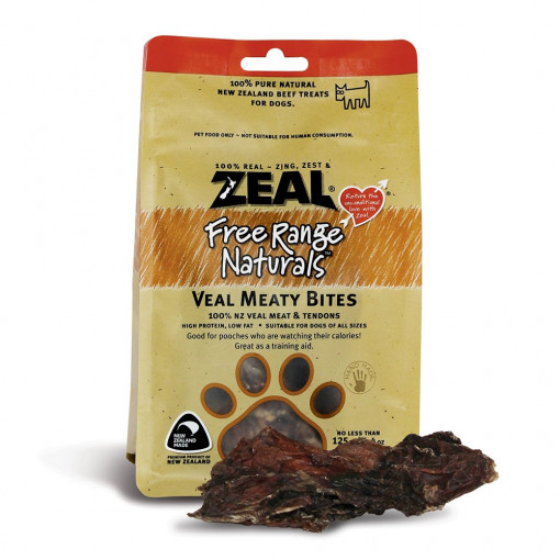 15 11 - Zeal - Veal Meaty Bites (125 g)