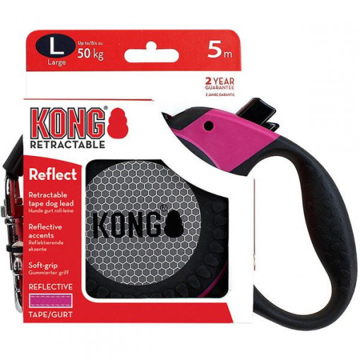15 2 - Kong - Retractable Reflect Dog Leash