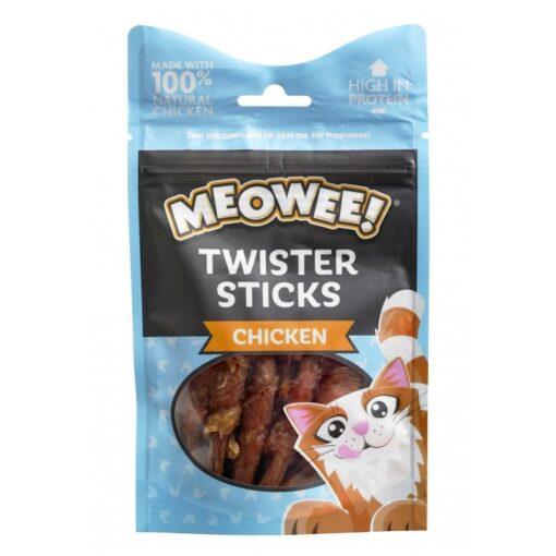 17120 twister sticks chicken - Meowee! Twister Sticks Chicken 7s 35g