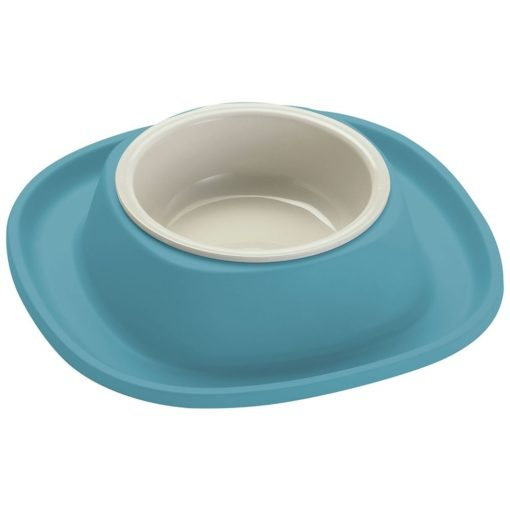 20050 ancient light blue 1 1 - Georplast Soft Touch Plastic Single Bowl Blue