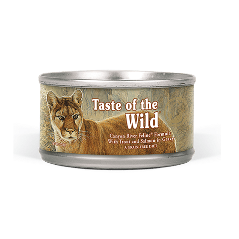 Canyon River Feline - Taste of The Wild - Canyon River Feline Recipe with Trout & Smoked Salmon