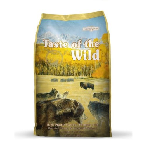 High Prairie Canine Formula e1565037163214 2 - Taste of The Wild - High Prairie Canine Recipe