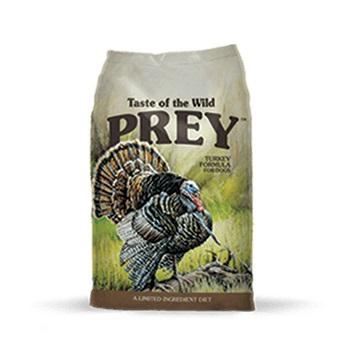 PREY TurkeyDog - Taste of The Wild - Prey Turkey Formula for Dog with Limited Ingredients