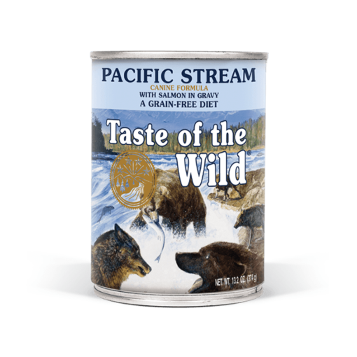 Pacific Stream Canine Formula - Taste of The Wild - Pacific Stream Canine Recipe with Smoked Salmon