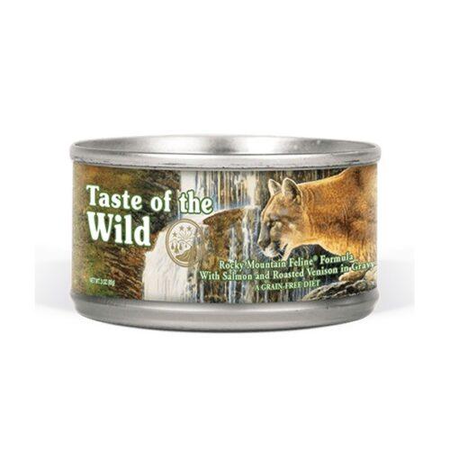 Rocky Mountain Feline Formula - Taste of The Wild - Rocky Mountain Feline Recipe with Roasted Venison & Smoked Salmon