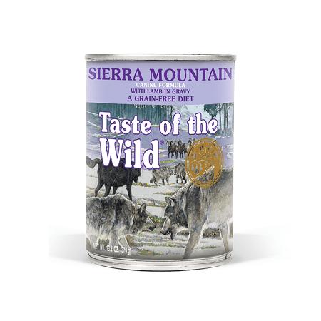 Sierra Mountain Canine Formula - Taste of The Wild - Sierra Mountain Canine Recipe with Roasted Lamb (390G)
