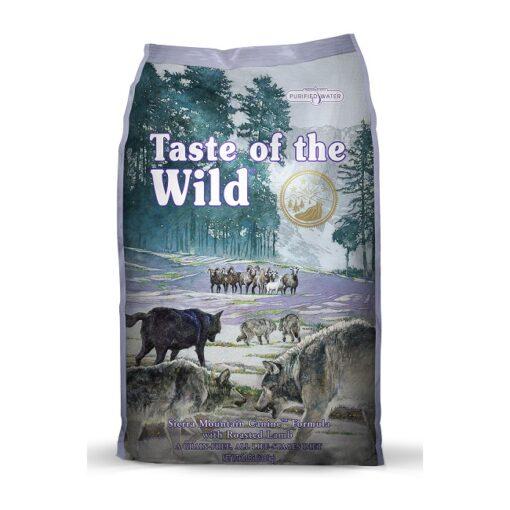 Sierra Mountain Canine Formula107 108 2 - Taste of The Wild - Sierra Mountain Canine Recipe with Roasted Lamb