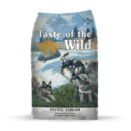 TOW PacificStreamPuppy Bag Large113 114 2 - Taste of The Wild - Pacific Stream Puppy Recipe with Smoked Salmon