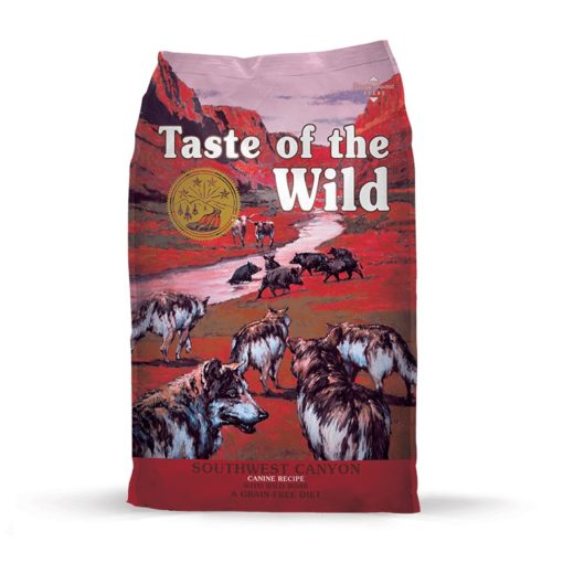 TOW SWCanyon Bag Large109 110 - Taste of The Wild - Southwest Canyon Canine Recipe with Wild Boar