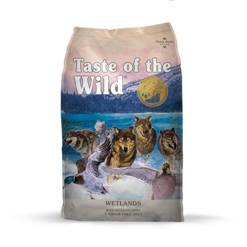 TOW Wetlands Bag Large 105 106 2 - Taste of The Wild - Wetlands Canine Recipe with Roasted Fowl
