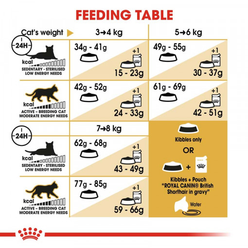 rc fbn britishsh cv eretailkit 5 - Royal Canin - Feline Breed Nutrition British Shorthair