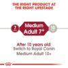 rc shn adultmedium7 cv eretailkit 1 - Royal Canin - Size Health Nutrition Medium Adult 7+