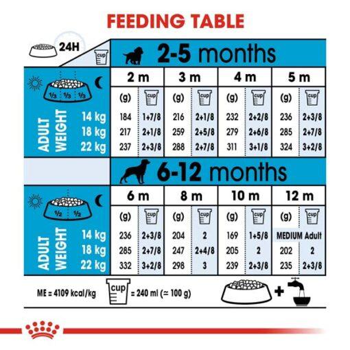 rc shn puppymedium cv eretailkit 5 2 - Royal Canin - Size Health Nutrition Medium Puppy