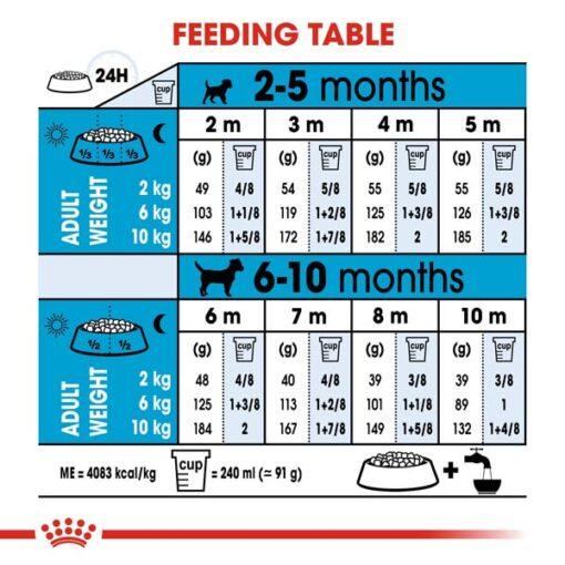 rc shn puppymini cv eretailkit 5 2 - Royal Canin - Size Health Nutrition Mini Puppy