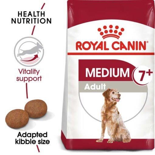 ro250790 - Royal Canin - Size Health Nutrition Medium Adult 7+