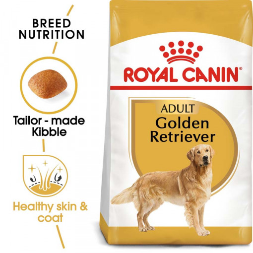 ro255370 - Royal Canin - Breed Health Nutrition Golden Retriever Adult