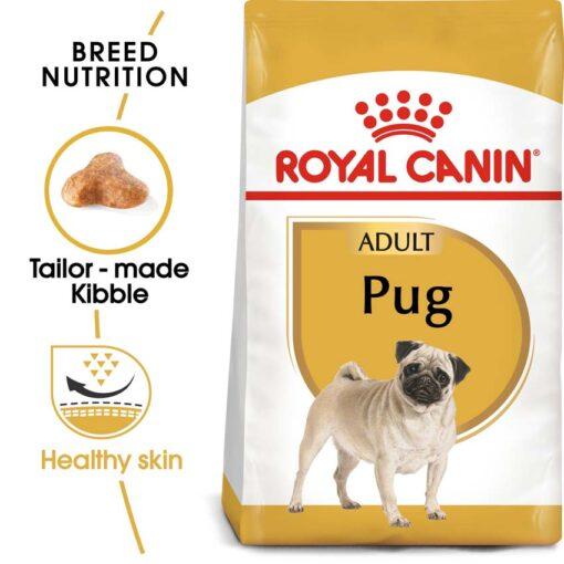 ro255720 - Royal Canin - Breed Health Nutrition Pug Adult