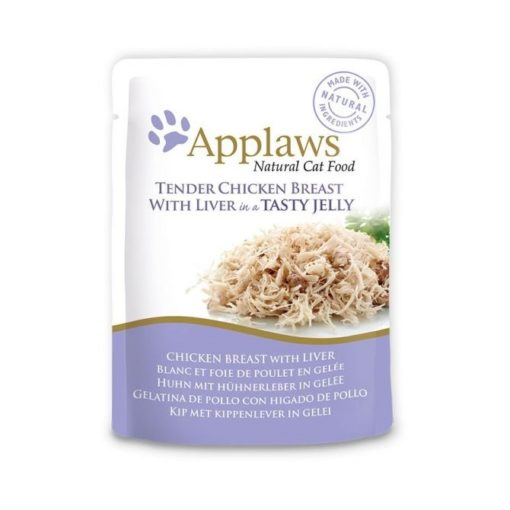 431051 2 - Applaws - Chicken Breast with Liver in Jelly (70 g)