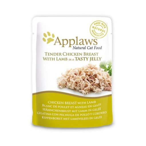 431099 2 - Applaws - Chicken Breast with Lamb in Jelly (70 g)