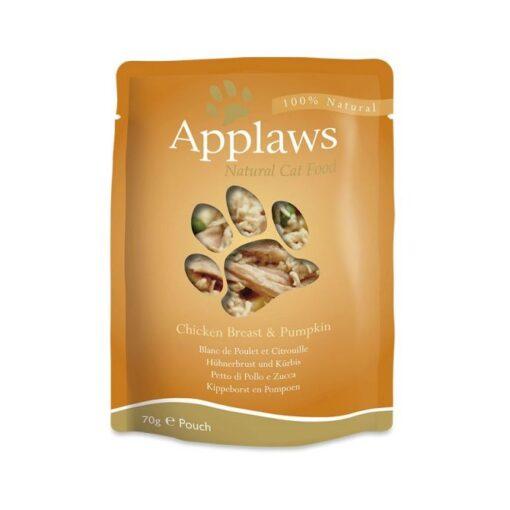 434793 2 - Applaws - Chicken with Pumpkin Pouch (70 g)