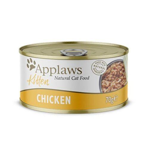 492096 1 1 - Applaws - Kitten Tin Chicken (70 g)