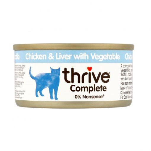 Thrive Complete ChickenLiver with Vegetable 75g - Thrive - Complete Chicken&Liver with Vegetable (75 g)