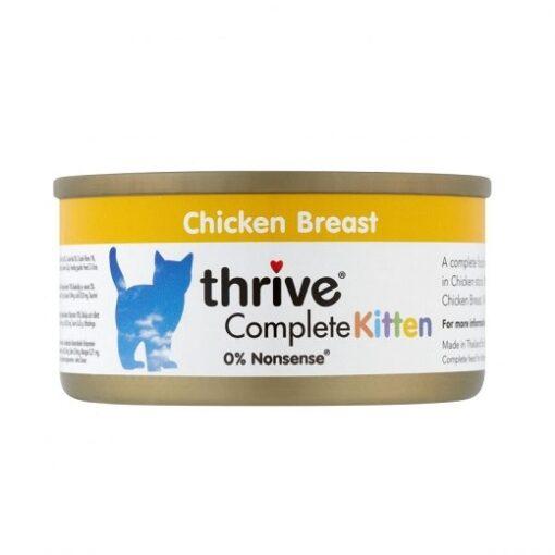 Thrive Complete Kitten 2 - Thrive - Complete Kitten Wet Food - Chicken (75 g)