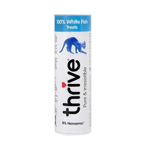 thrive 100 white fish 3 2 - Thrive for Cats - 100% White Fish (15g)