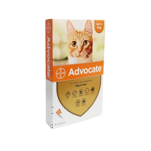 1016878 - Advocate For cats below 4kilo (3 pipettes)