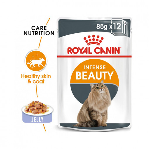 INTENSE BEAUTY JELLY 05 - Royal Canin - Feline Care Nutrition Intense Beauty Jelly