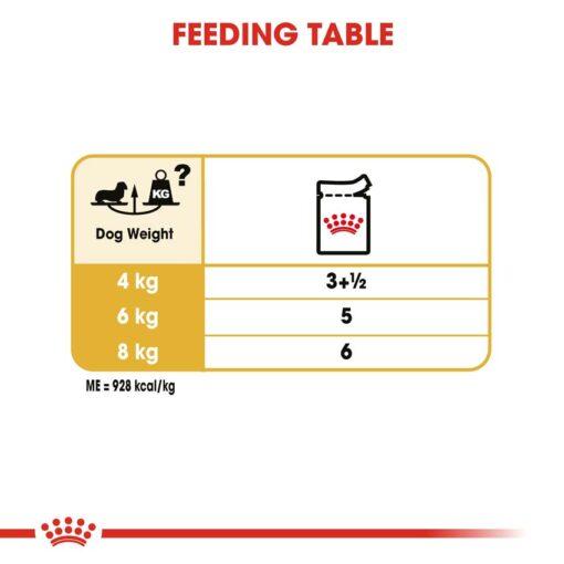 rc bhn wet dachshund cv eretailkit 5 - Royal Canin - Adult Dachshund Wet Food