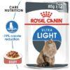 ro237230 - Royal Canin - Feline Care Nutrition Light Weight Gravy