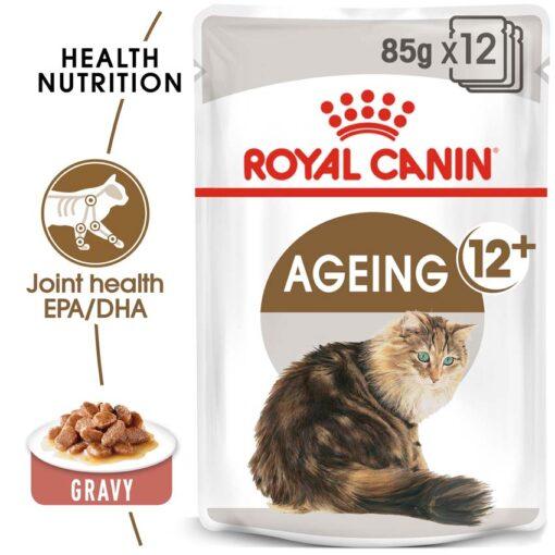 ro237270 - Royal Canin - Feline Health Nutrition Ageing +12 Gravy