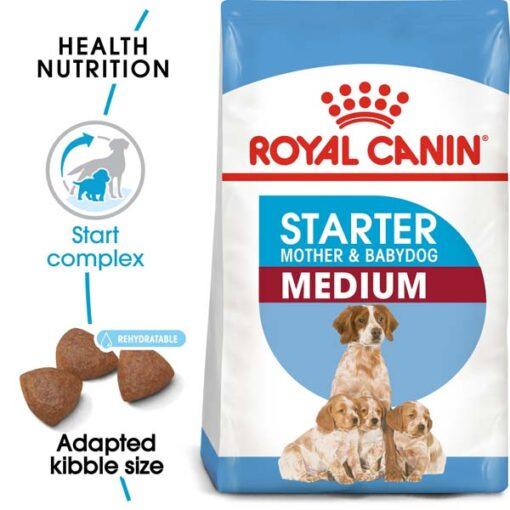 ro252400 - Royal Canin - Size Health Nutrition Medium Starter