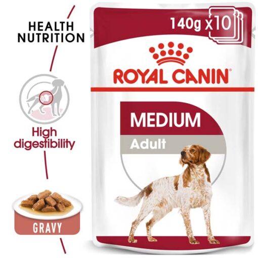 ro270070 - Royal Canin - Size Health Nutrition Medium Adult