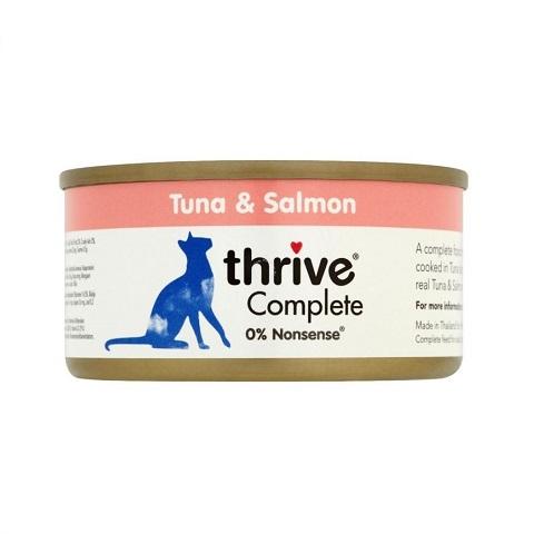 200521 2 - Thrive - Complete Cat Tuna & Salmon Wet Food