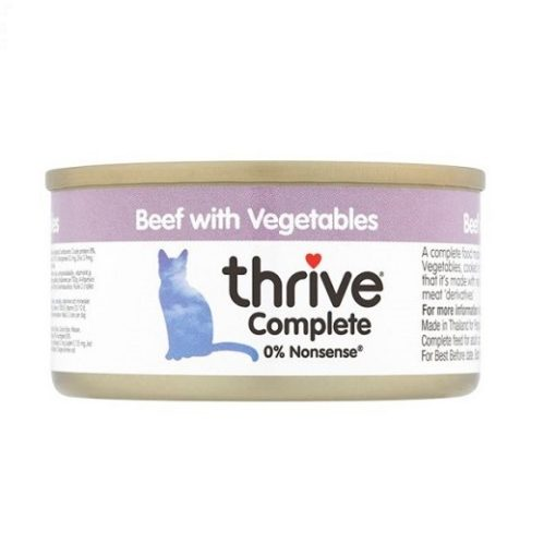 200530 2 - Thrive - Complete Cat Beef with Vegetables Wet Food (75g)