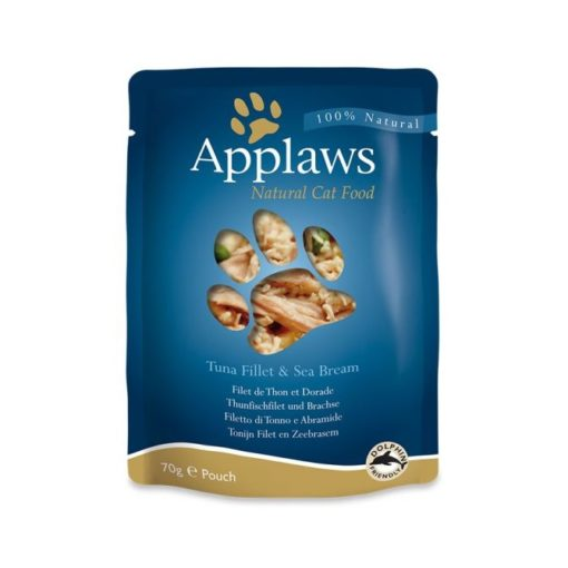 434830 1 2 - Applaws - Cat Tuna with Seabream (70g)