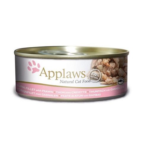 492225 2 - Applaws - Cat Tuna with Prawn (156g)