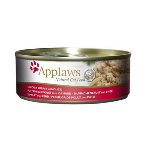 494205 2 - Applaws - Cat Chicken with Duck (156g)