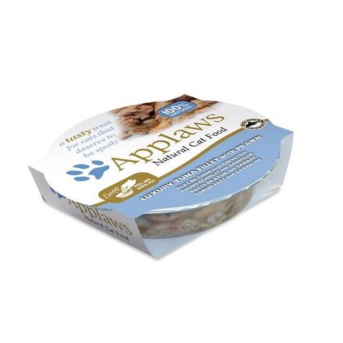 496001 1 - Applaws - Cat Tuna with Prawn Pot (60g)