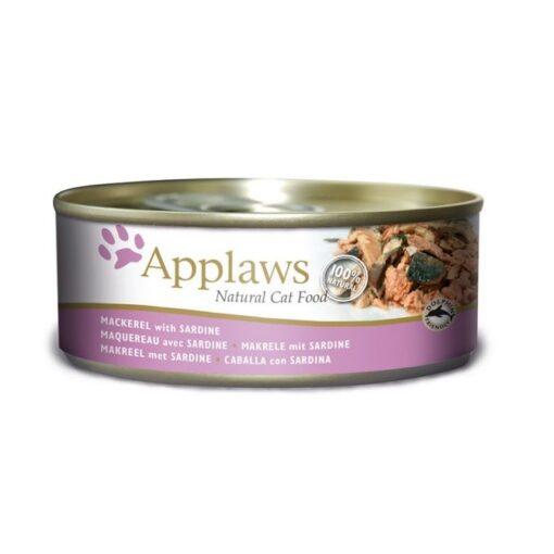 890809 1 - Applaws Cat Wet Food - Mackerel&Sardine Tin (156g)