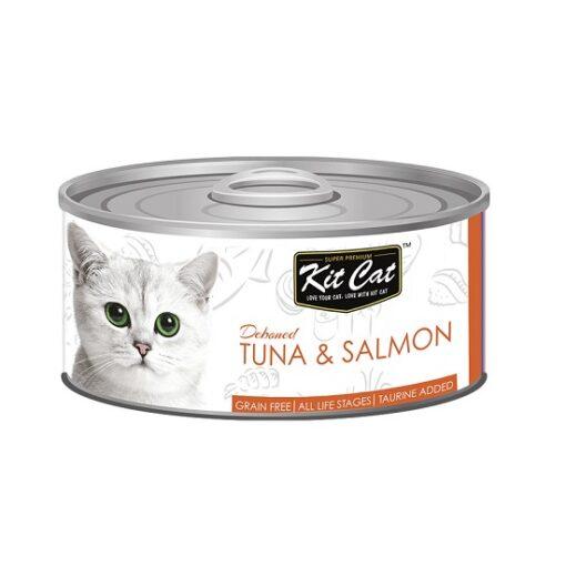 KitCat Tuna Salmon 1 - Kit Cat Tuna & Salmon Topper (80g)