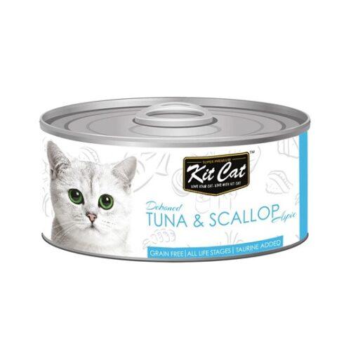 KitCat Tuna Scallop 2 - Kit Cat Tuna & Scallop Topper (80g)