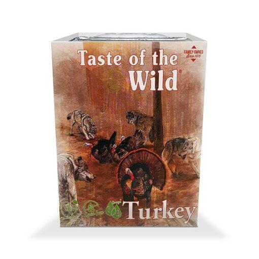 106 turkey - Taste of the Wild - Dog Wet Food Turkey Fruit & Veg Tray