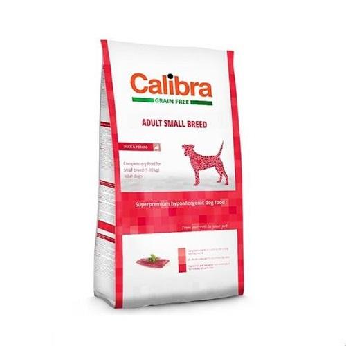 E006396 Calibra Sp Dry Dog Grain Free Adult Small Breed Duck 7kg - Calibra - Sp Dry Dog Grain Free Adult Small Breed Duck
