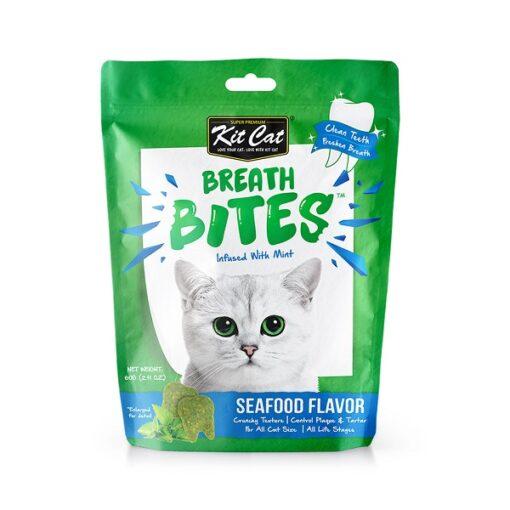 Curious Cat Cube Cottage 1 - Breath Bites Seafoods Flavor 60g
