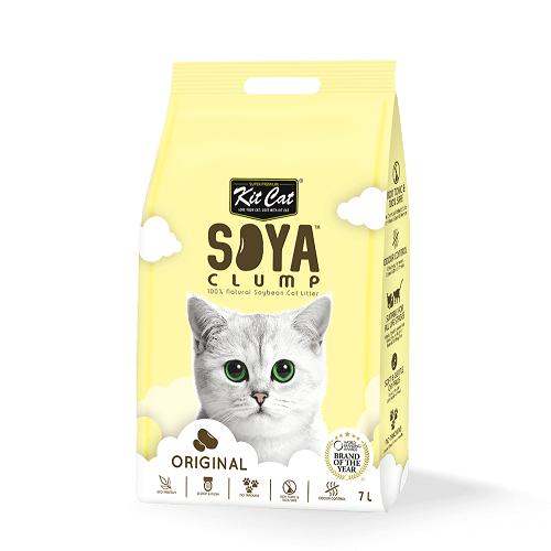 Kit Cat Soyabean Original - Kit Cat Soya Clump Soybean Litter - Original 7L
