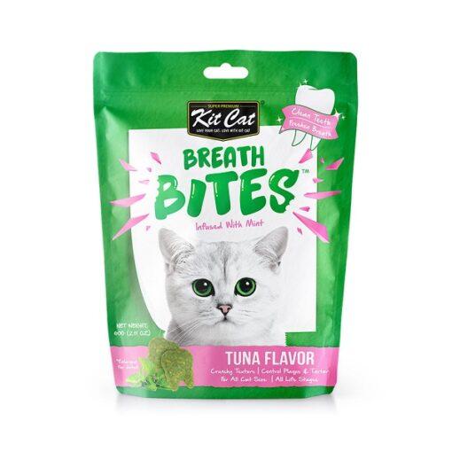 KitCat Breath Bites Tuna 1 - Breath Bites Tuna Flavor 60g