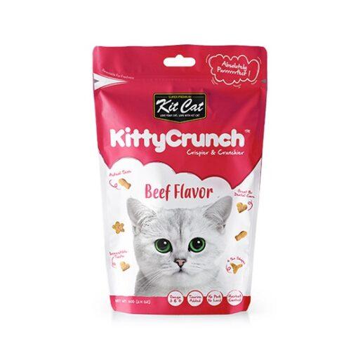 KitCat Kitty Crunch Beef Flavor 1 - Kitty Crunch Beef Flavor (60g)